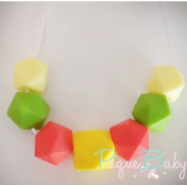 Collar baby multi hexagono